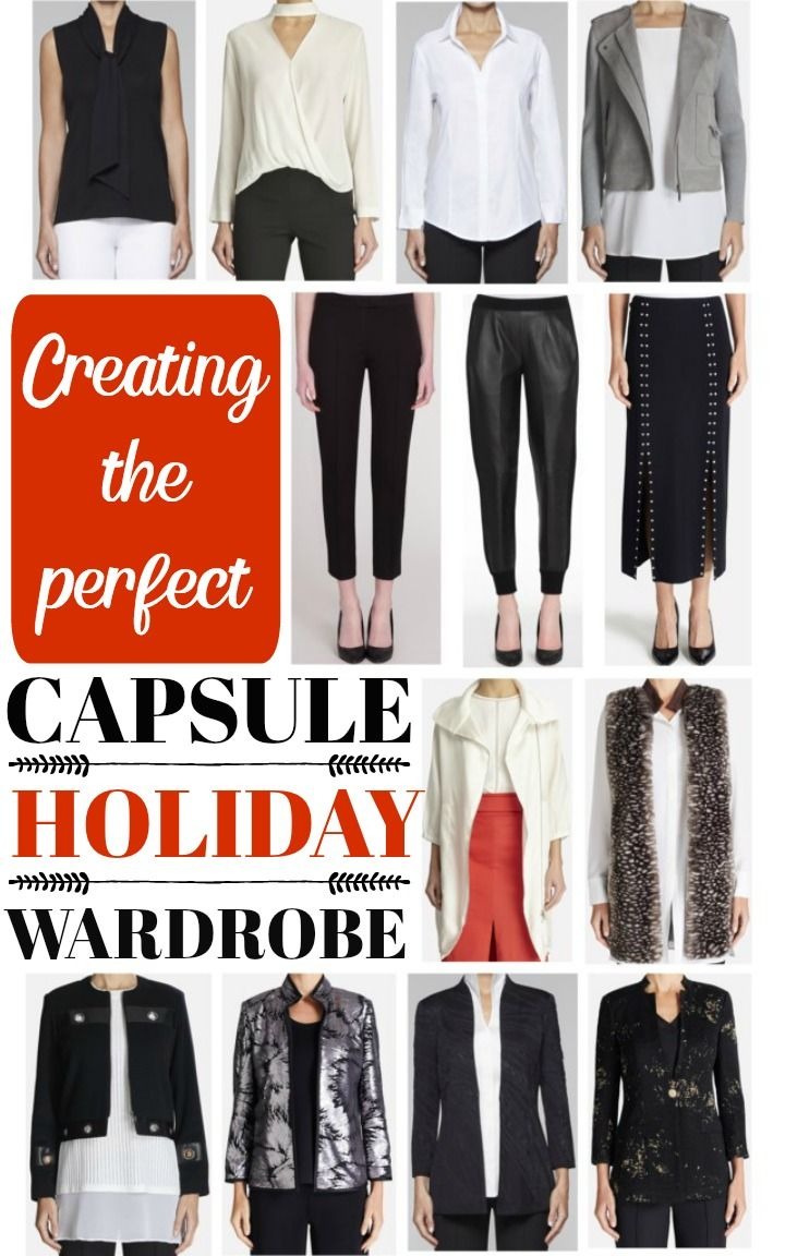 Creating the Perfect Capsule Holiday Wardrobe ~ DIvineLIfestyle.com ~ #ad #misook #misookshop