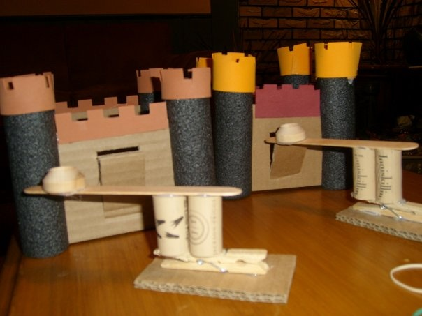 how to make a model catapult with popsicle sticks