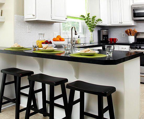 17 best ideas about Black Kitchen Countertops – Black Kitchen Counter