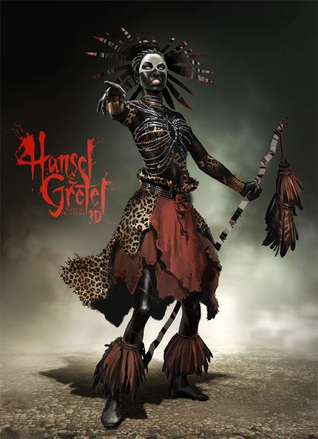 Hansel & Gretel: Witch Hunters African Witch