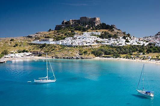 Rhodes Island Greece | ... finds Rhodes an oasis of calm among Greece's woes | The Sun |Travel