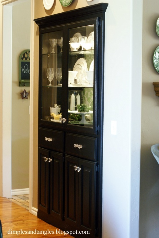 Built In China Cabinet Could Do This In The Dining Room