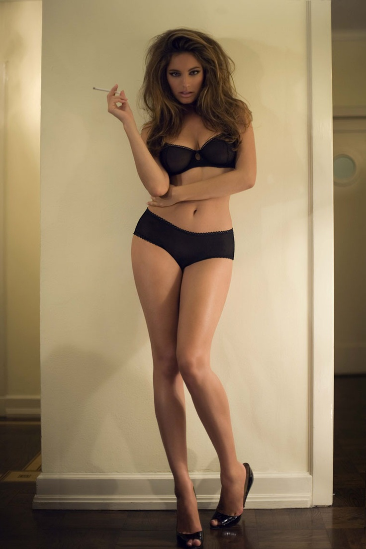not interested in her clothes really. lol. this woman has the most perfect figure... ever... Kelly Brook