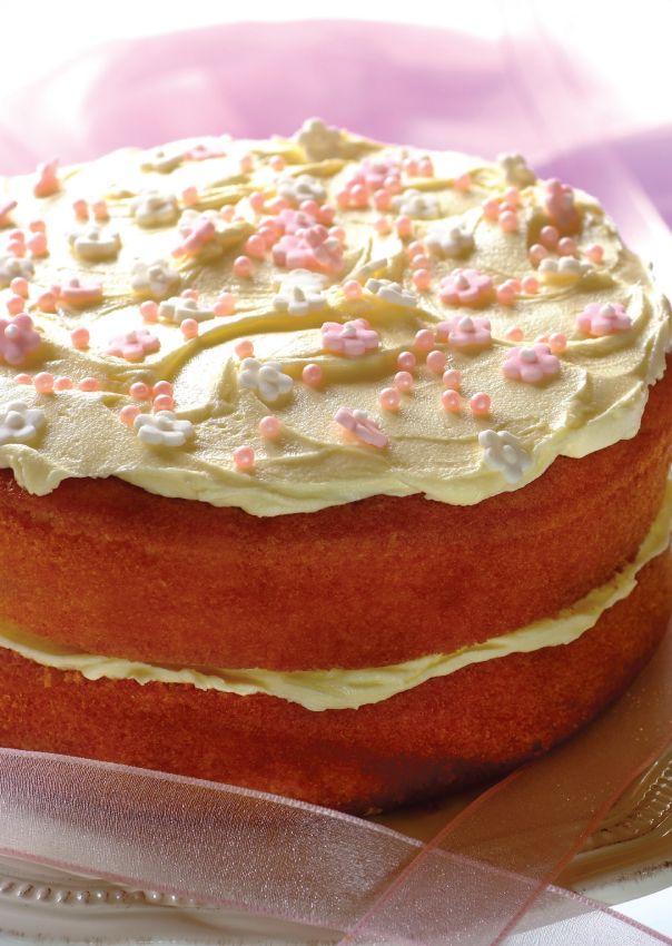 a simple beat n bake cake