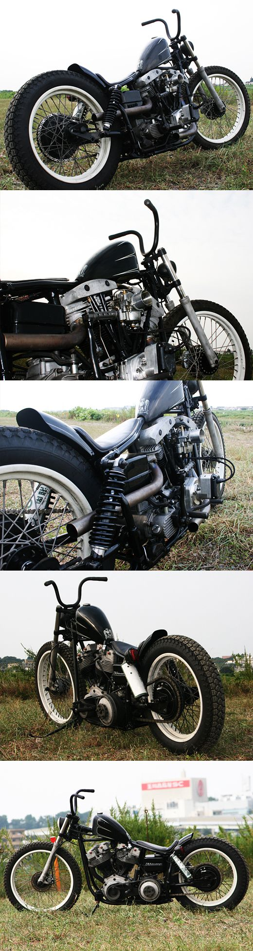 Hide motorcycle : The Narrow Striker