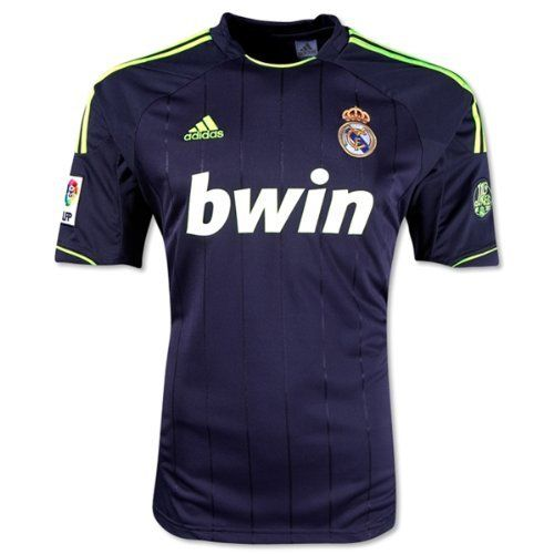 Real Madrid Replica Black Away Soccer Jersey Shirt