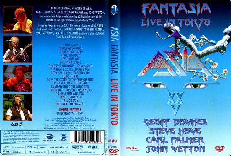 Full DVD del Concierto de Asia - Fantasia Live in Tokyo 2007