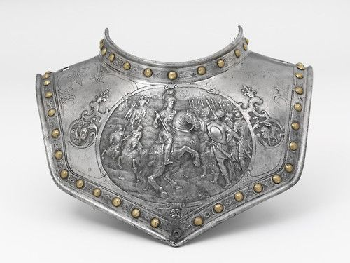 Gorget, 1600-1625, The Victoria & Albert Museum