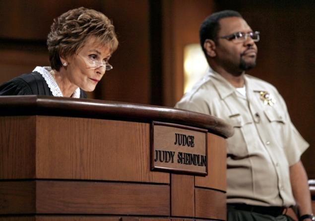 Judge Judy's Bailiff   Judge Judy's husband, retired Bronx Supreme Court Justice Gerald ...