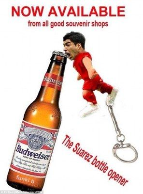 You now can get Luis Suárez to open your beers
