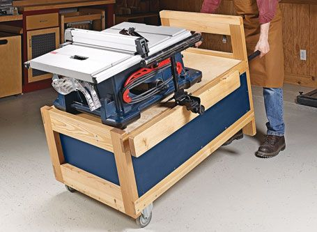 Table Saw Stand | Woodsmith Plans