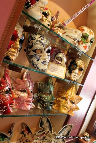 Italian Masks in Epcot