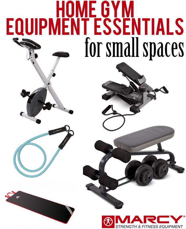 1000 ideas about small home gyms on pinterest home gyms home gym design and exercise rooms - Home workout equipment small space ideas ...