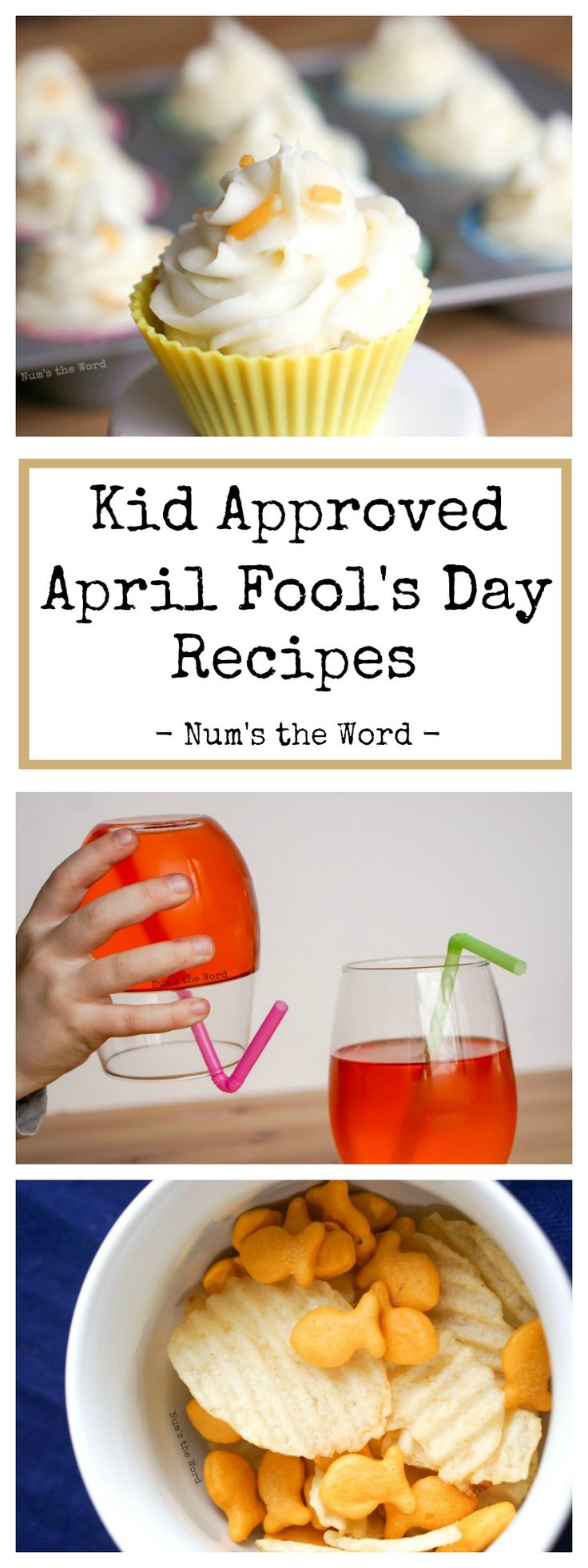 These Kid Approved April Fool's Day Recipes are easy to make a sure to trick your kids! Have fun and be creative with these fun trick recipes!