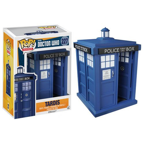 Doctor Who 6'' POP! Vinyl Figure - Tardis @Archonia_US