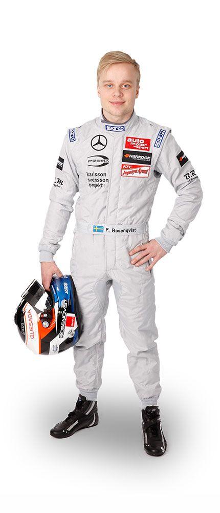 Felix Rosenqvist fährt 2016 für das Mercedes-AMG DTM Team ART in der DTM