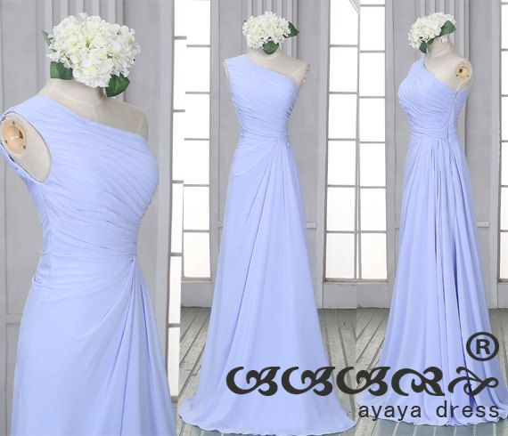 Custom Long de robe de demoiselle d'honneur de Prom par ayayadress