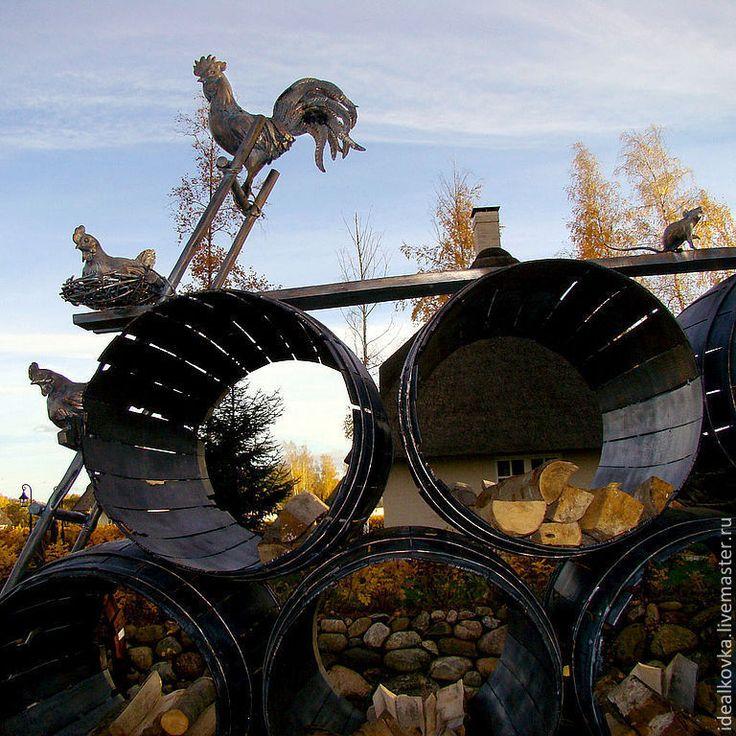 реалистичные ландшафтные скульптуры животных - художественная ковка,ручная работа