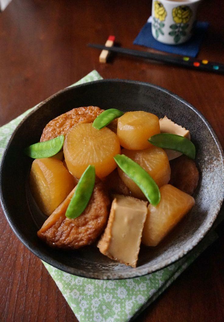 大根と厚揚げのこっくり煮物 by 楠みどり | レシピサイト「Nadia | ナディア」プロの料理を無料で検索