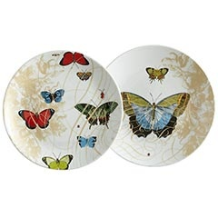 Obsessed with these butterfly dessert plates!  They are even lovelier in person.