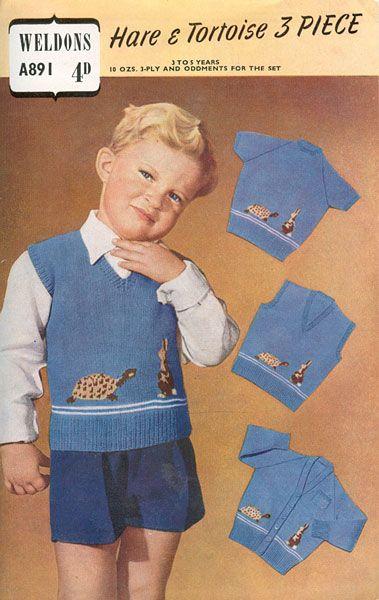 childs fair isle knitting pattern