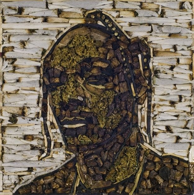 Portrait Of Snoop Dogg Made From Weed - BuzzFeed Mobile