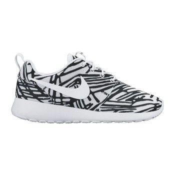 Nike Roshe One Print Bleue Basket Homme