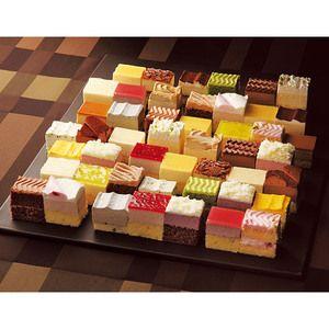 24種類の一口サイズケーキが48個も!!【ケーキ・パレード】