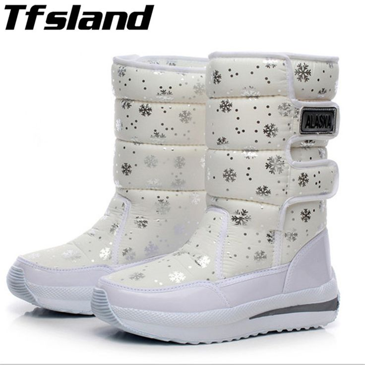 Ikeacasa, Women Waterproof Bottes Botas Stivali Stiefel Bottes de Neige Stivali Neve Doposci Botas Nieve Schneestiefel Snowflake Super Warm Sneaker Winter Platform Ankle Snow Boots Thermal Cotton-padded Snowboarding & Skiing Shoes //Price: $33.79 & FREE Shipping //     #life #architecture #nature