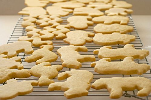 via my friend Ashley, this is the amazing sugar cookie (somewhat shortbread like) recipe she uses. This is a comparison of 4 recipes, we use the first one. The best  and easiest sugar cookies to decorate ever!!