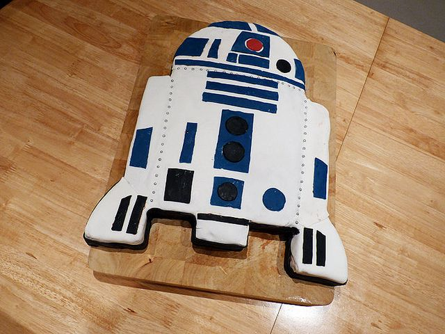r2d2 cake | R2D2 cake | Flickr - Photo Sharing!