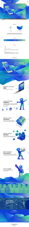BlueBay/Web Design on Behance