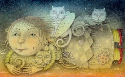 Wayne Anderson ...#cats...#illustration