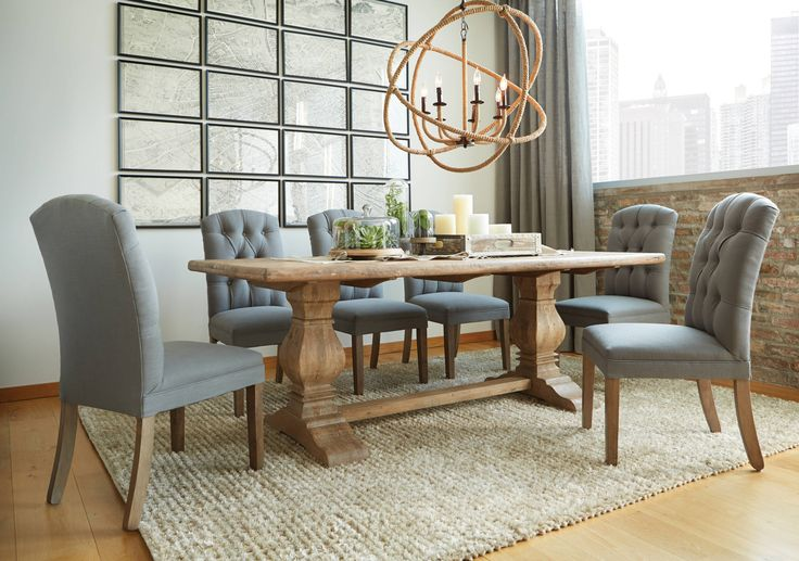 San Rafael Dining Collection: This Beautiful Solid Mango Hardwood Table Is  An Urban Showstopper With