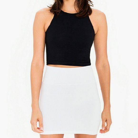 NWT Body Central white mini skirt Very flattering and versatile! Body Central Skirts Mini