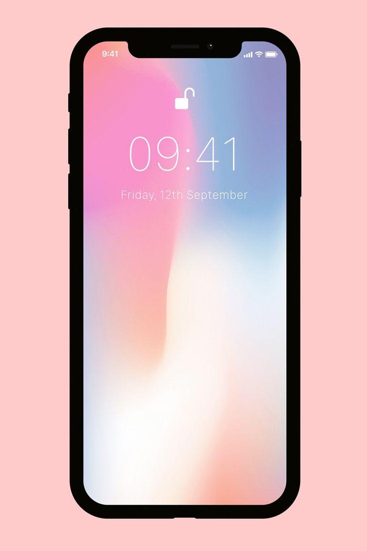 Flat iPhone X Mockups in 21   Iphone, Iphone mockup, İphone x