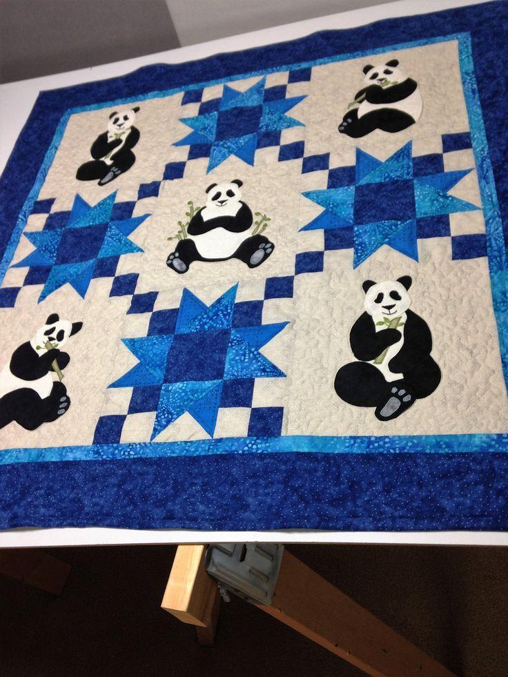 47 Best Panda Quilts Images On Pinterest Panda Quilt