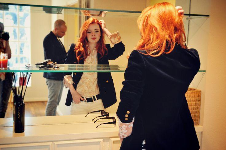 i want a velvet blazer