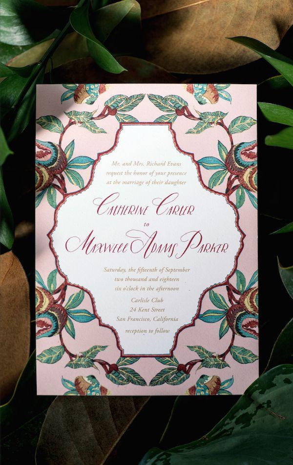 lotus flower wedding invitations%0A the NEW bright and floral wedding invitation collection from Hello Tenfold
