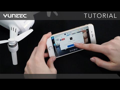 Yuneec adds livestreaming to its remote control drone app
