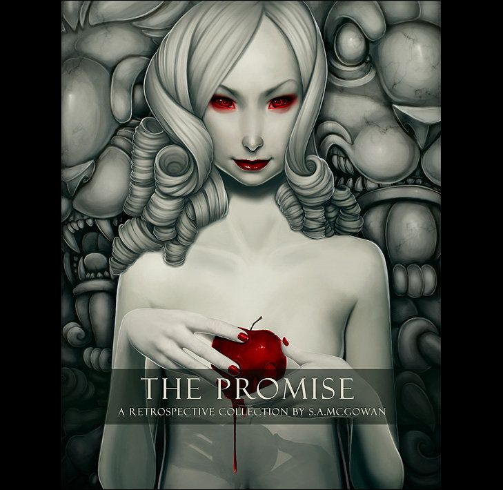 The Promise Book Cover by Stephan McGowan | Illustration | 2D | CGSociety