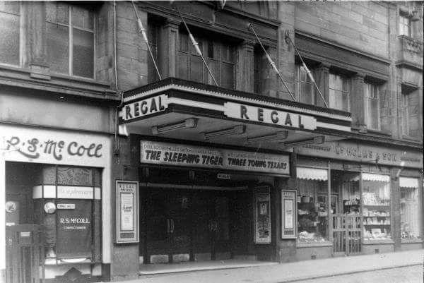 Regal Cinema, Greenock. I saw sooo many films here