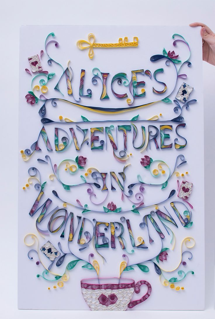 'Alice's Adventures in Wonderland' Book cover design on Behance
