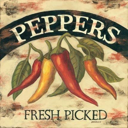 Peppers Label (Jennifer Label)