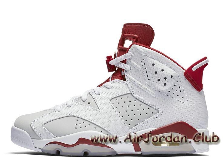 Air Jordan 6 Retro ´White Alternate´ 384664_113 Homme Jordan Release 2017  Pour Blanc -