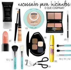Sabrina, Marina e Thais falam sobre Necessaire para iniciantes: o que comprar? no Coisas de Diva, seu blog de maquiagem, beleza e moda de Curitiba.
