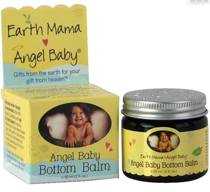 Hospital recommended Angel Baby Bottom Balm is a safe, effective, herbal diaper cream that safely battles existing diaper rash and protects against flare ups. The only ointment made with Earth Mama's proprietary blend of naturally antibacterial and antifungal organic herbs, Shea butter and pure essential oils, soothing to thrush, itchy bug bites, scrapes, chicken pox, minor rashes, and burns. From diaper bag to your family's first aid kit.