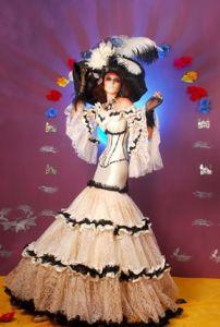Resultado de imagen para vestidos de catrinas modernas