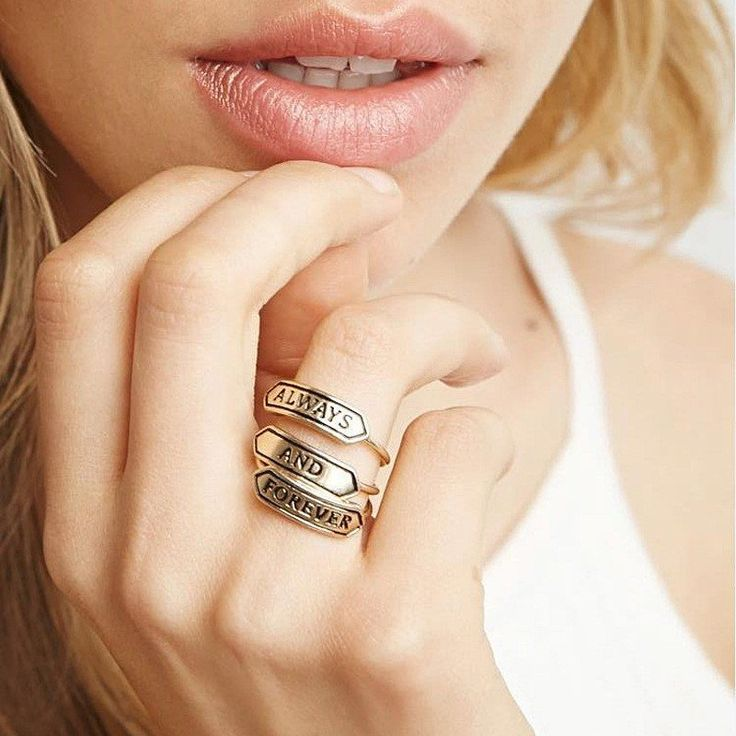 Always and Forever Stackable Ring Set