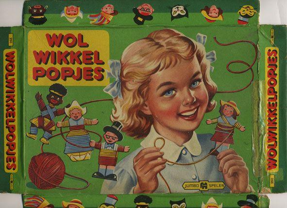 Wol Wikkel Popjes - wol wrap dolls - boardgame